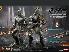 Hot Toys Chitauri Commander and Footsoldier Set Marvel The Avengers