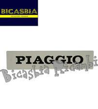 0154 - TARGHETTA ADESIVA PER MASCHERINA COPRICLACSON VESPA PK 50 125 S