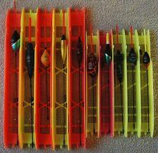 Lot 10 lignes montées différentes 7M pêche au coup flotteur Filstar/Top Float 18