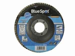 BlueSpot Tools - Sanding Flap Disc 115mm 60 Grit