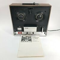 SONY TC-252 D Solid State Stereo Tapecorder Reel-to-Reel Player Recorder, Manual