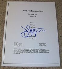 JOHN LITHGOW SIGNED 3RD ROCK FROM THE SUN 47 PAGE EPISODE SCRIPT w/VIDEO PROOF
