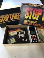 Parker Brothers vintage 1980 STOP THIEF Electronic Board Game WORKS