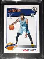 2019-20 JA MORANT Tribute RC Rookie Card Memphis Grizzlies NBA Hoops #297