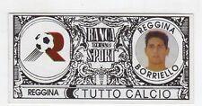 figurina - TUTTO CALCIO EURO MONETE  - REGGINA BORIELLO