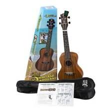 LUNA Guitars Vintage Mahogany Concert Ukulele Pack Satin Natural