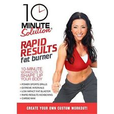 10 Minute Solution: Rapid Results Fat Burner (DVD, 2010) Exercise Fitness NEW!!!