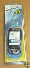 SCUBA BODY GLOVE CELLSUIT SAMSUNG SGH D600 BLUE NEW