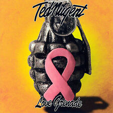 TED NUGENT LOVE GRENADE CD - TED NUGENT CD - OUT OF PRINT CD