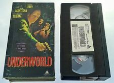 UNDERWORLD (VHS) RARE ACTION THRILLER w/ DENNIS LEARY (JUDGEMENT NIGHT, GUNMEN)
