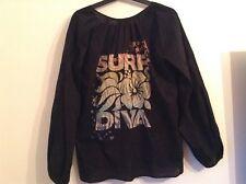 """BNWT 100% auth True Religion Ladies """"Surf Diva"""" Top / Shirt. M Rrp $125.00"""