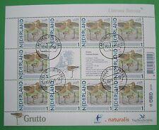 Nederland NVPH 2791 persoonlijke zegel vel Grutto gestempeld