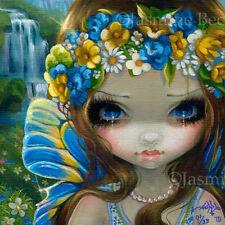 Faces of Faery 229 Jasmine Becket-Griffith art CANVAS PRINT Swedish Fairy summer