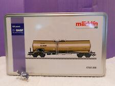 Märklin Kesselwagen 150 Jahre BASF auf Lurans Gleisbett
