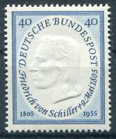 Bund Nr. 210 sauber postfrisch BRD 1955 Friedrich von Schiller MNH