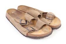 BIRKENSTOCK Suede Leather Sandals Slides Shoes Mens Size Euro 45 US 12 N