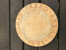 Large Vintage Wooden Bread Board