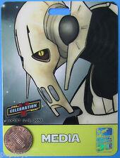 Convention Badge 2010 vtg MEDIA Pass Celebration V - GENERAL GRIEVOUS -Star Wars