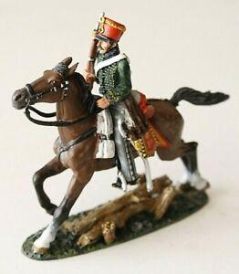 DEL PRADO  TROOPER AUSTRIAN HUSSARS  1814   HAND PAINTED METAL