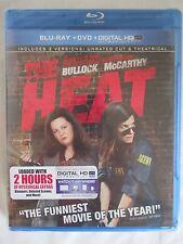 THE HEAT BLU-RAY + DVD + DIGITAL HD ULTRAVIOLET SET - BRAND NEW
