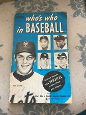1970 Who's Who In Baseball -Tom Seaver Killebrew on Cover & 615 player records
