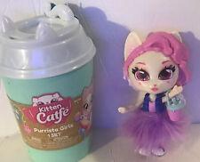 """Kitten Catfe Barrista Girl-""""Kitty Purrcino�- Jakks - Cat Doll"""