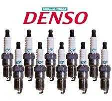 Set of 10 Spark Plugs 4714 IT20TT Denso Iridium For Ford E-350 F-550 SD 6.8L V10