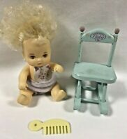 Love-A-Bye Baby Rocking Chair Doll Comb 1980s/90s Hasbro Vintage