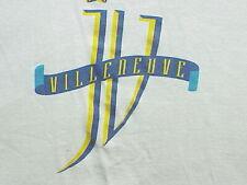 VTG 80 Jacques Villeneuve Formula 1 Racing Single Stitch T-Shirt XL/L LA PASSION