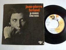 """JEAN-PIERRE FERLAND : Je reviens chez nous, Les négresses 7"""" EP BARCLAY 71 379"""