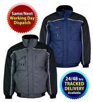 Men's Tuff Stuff Waterproof Bomber Quilted Padded  Work Jacket/Coat Size S-3XL