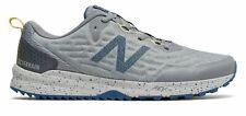 New Balance Men's NITREL v3 Trail Shoes Grey with Blue