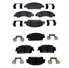 Front and Rear Ceramic Brake Pad Set Kit ACDelco For Chevrolet Silverado 1500