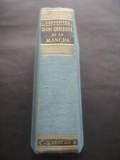 LIBRO DON QUIJOTE DE LA MANCHA. ED. JUVENTUD 1965