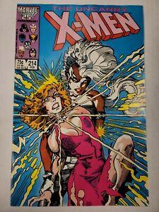UNCANNY X-MEN #214 (Marvel 1987)  NM    HIGH GRADE
