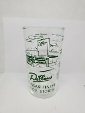 Vintage advertising measuring glass - Dillon's (1371)