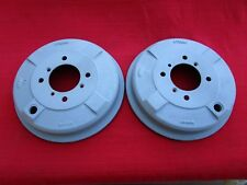 Pair of Reconditioned OEM Banjo Rear Axle Brake Drums BTB 338 for Early MGB