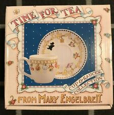 """Mary Engelbreit: Time for Tea Cup & Saucer Collection, """"A Charmed Life"""" indeed!"""