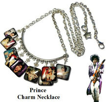Handmade Prince-Rogers NelsonMemorial Necklace Silver Plated 22 Inch Purple Rain