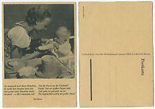 31907 - So riesengroß das Butterbrot ... - alte Ansichtskarte