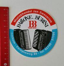 Aufkleber/Sticker: Ballone Burini - Muziekhandel Jan Zweverink (220217126)