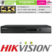 1 en 3 - 8CH hikvision hybrid dvr analogique ip hd-tvi ds -7208 HQHI-sh record turbo hd