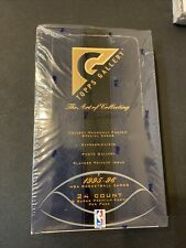 1995-96 TOPPS GALLERY BASKETBALL CARDS FACTORY SEALED 24 PACK BOX Jordan Inserts