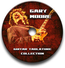 GARY MOORE ROCK GUITAR TAB TABLATURE SONG BOOK ANTHOLOGY SOFTWARE CD