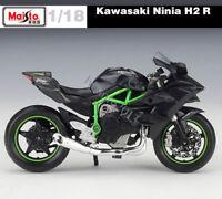 Maisto Diecast Kawasaki Ninja H2R Motorcycle Model 1:18 Scale Birthday Present
