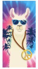 """Llama Beach Towel 30""""X 60"""" Tie-Dye Cool Llama  Towel"""