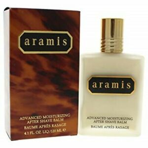 Aramis For Men Advanced Moisturizing  After Shave Balm 4.1 oz NEW