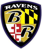 Baltimore Ravens Vinyl Decal ~ Wall Graphics - Car Truck Sticker - Cornholes,