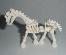ANIMAL Lego White Skeletal Skeleton Horse NEW Halloween Castle
