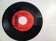JERRY LEE LEWIS - WALKING THE FLOOR OVER YOU - 45 RPM - (ORIGINAL)  NEW   MINT